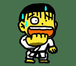 Karate Boy! 2 sticker #6000710