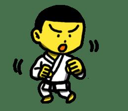 Karate Boy! 2 sticker #6000712
