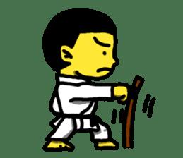 Karate Boy! 2 sticker #6000713