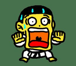 Karate Boy! 2 sticker #6000714
