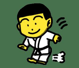 Karate Boy! 2 sticker #6000716
