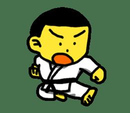 Karate Boy! 2 sticker #6000718