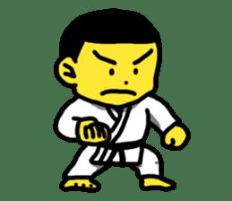 Karate Boy! 2 sticker #6000719