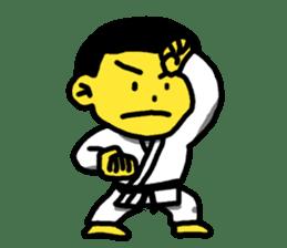 Karate Boy! 2 sticker #6000720