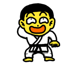Karate Boy! 2 sticker #6000726