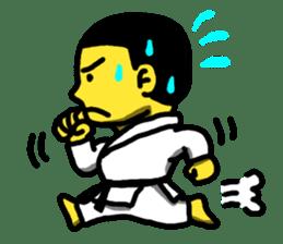 Karate Boy! 2 sticker #6000729