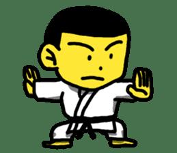 Karate Boy! 2 sticker #6000730