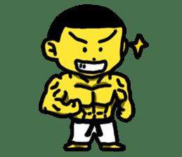 Karate Boy! 2 sticker #6000731