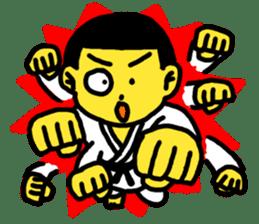 Karate Boy! 2 sticker #6000734