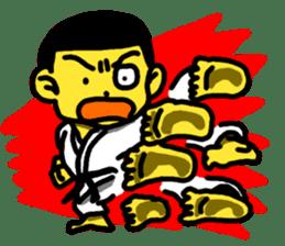 Karate Boy! 2 sticker #6000735