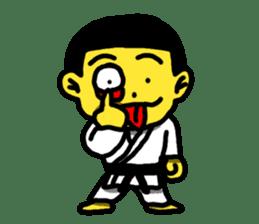 Karate Boy! 2 sticker #6000736