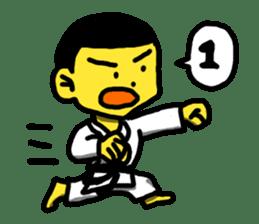 Karate Boy! 2 sticker #6000739
