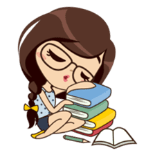 Alice in College Version sticker #6002761