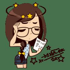 Alice in College Version sticker #6002764