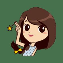 Alice in College Version sticker #6002780