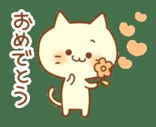 Congratulation cats sticker sticker #6009387
