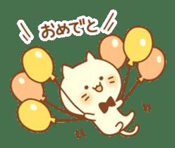 Congratulation cats sticker sticker #6009391