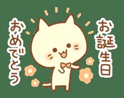 Congratulation cats sticker sticker #6009393