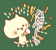 Congratulation cats sticker sticker #6009397