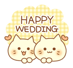 Congratulation cats sticker sticker #6009401