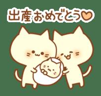 Congratulation cats sticker sticker #6009405
