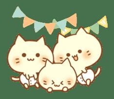 Congratulation cats sticker sticker #6009420