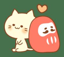 Congratulation cats sticker sticker #6009422