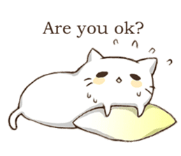 Pillow & Cat (en) sticker #6010386