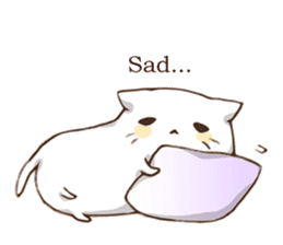 Pillow & Cat (en) sticker #6010390