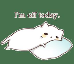 Pillow & Cat (en) sticker #6010392
