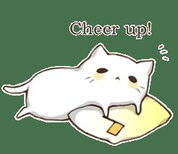 Pillow & Cat (en) sticker #6010407