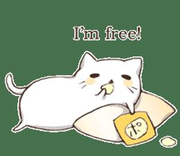 Pillow & Cat (en) sticker #6010409