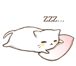 Pillow & Cat (en) sticker #6010420