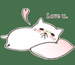 Pillow & Cat (en) sticker #6010422