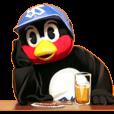 つば九郎スタンプ2 東京ヤクルトスワローズ | LINE STORE