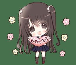 Milk, The Cute Junior High School Girl3 sticker #6019146