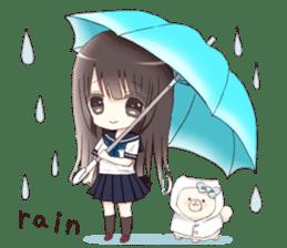 Milk, The Cute Junior High School Girl3 sticker #6019152