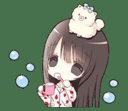 Milk, The Cute Junior High School Girl3 sticker #6019154