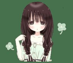 Milk, The Cute Junior High School Girl3 sticker #6019171