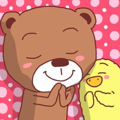 Diaper Bear Love You