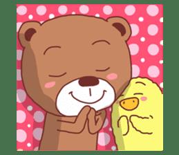 Diaper Bear Love You sticker #6019344