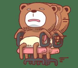 Diaper Bear Love You sticker #6019347