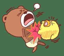 Diaper Bear Love You sticker #6019352