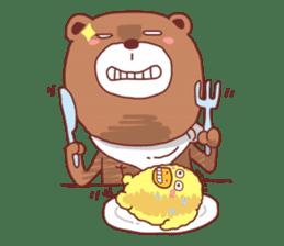 Diaper Bear Love You sticker #6019354