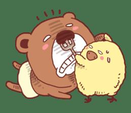 Diaper Bear Love You sticker #6019363