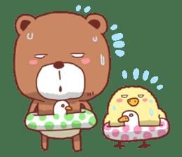 Diaper Bear Love You sticker #6019365