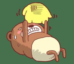 Diaper Bear Love You sticker #6019368