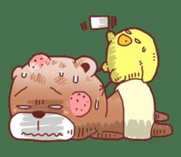 Diaper Bear Love You sticker #6019372