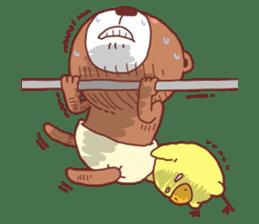 Diaper Bear Love You sticker #6019375