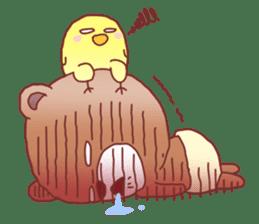 Diaper Bear Love You sticker #6019381
